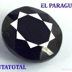 Coleccionismo de gemas: GIGANTE ZAFIRO DE MADAGASCAR DE 1585 KILATES MEDIDA 7,5 X 5,9 X 3,7 CENTIMETROS - Nº19. Lote 180291136