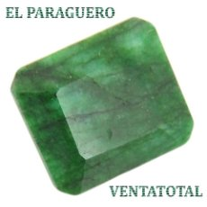 Coleccionismo de gemas: GIGANTE ESMERALDA DE BRASIL DE 1470 KILATES MEDIDA 7,3 X 5,7 X 3,4 CENTIMETROS - Nº48. Lote 180291608