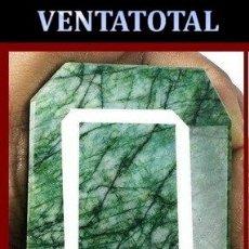 Coleccionismo de gemas: GIGANTE ESMERALDA DE MUZO COLOMBIA DE 1470 KILATES MEDIDA 7,3 X 5,7 X 3,4 CENTIMETROS - Nº52. Lote 180296402