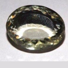 Coleccionismo de gemas: PRASIOLITA AMATISTA VERDE NATURAL DE 17,75CT.. Lote 180418315