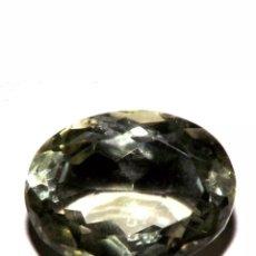 Coleccionismo de gemas: PRASIOLITA AMATISTA NATURAL VERDE DE 12,30 CT.. Lote 180419548