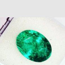 Coleccionismo de gemas: ESMERALDA NATURAL DENDRITICA DE COLOMBIA 7,30CT.. Lote 180422740