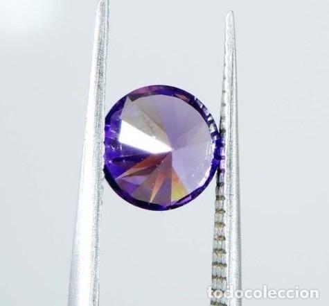 Coleccionismo de gemas: Inigualable Circón Violeta Natural procedente de Camboya con Talla Redonda y 2.25 Ct. - Foto 5 - 168445436