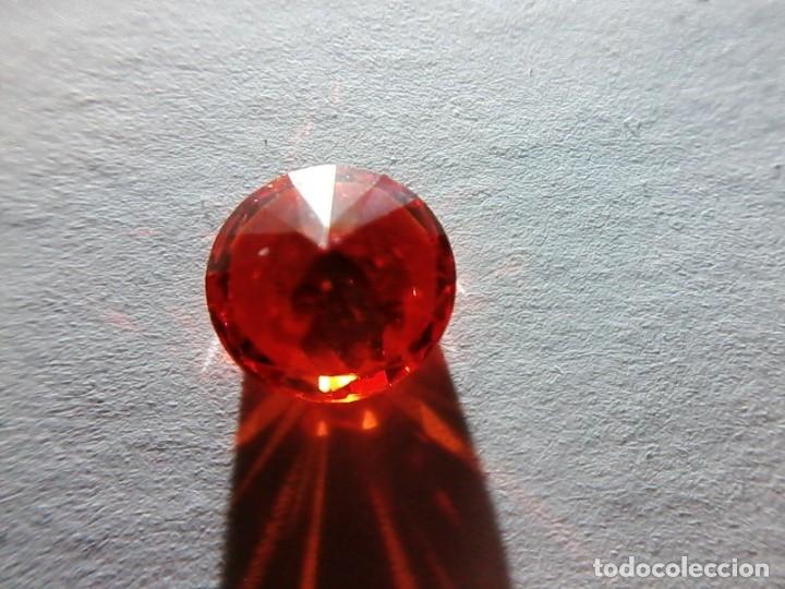 Coleccionismo de gemas: Circón Natural Naranja de Camboya con Talla Redonda y 2.25 Ct . - Foto 6 - 180904096