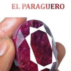 Coleccionismo de gemas: DELICIOSO RUBI ROJO SANGRE DE LA INDIA DE 380 KILATES CERTIFICADO - MEDE 4,5 X 3,3 X 2,5 CENTI-N38. Lote 181022763