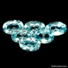 Coleccionismo de gemas: CIRCON NATURAL OVAL 6,0 X 4,0 MM. Lote 181152161