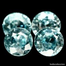 Coleccionismo de gemas: CIRCON NATURAL REDONDO 5 MM. Lote 181152258