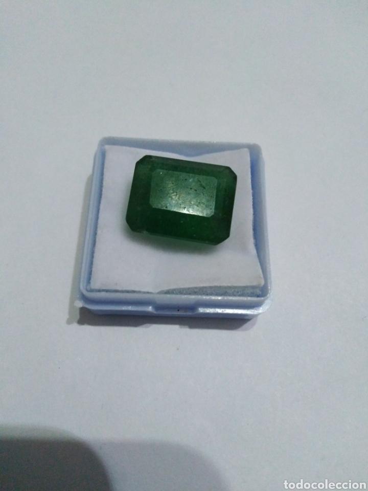 ESMERALDA NATURAL DE 15,60 CT. (Coleccionismo - Mineralogía - Gemas)