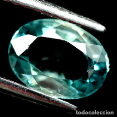 Coleccionismo de gemas: CIRCON NATURAL 7 X 5 MM.. Lote 182321541