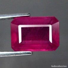 Coleccionismo de gemas: RUBI 10 X 7,1 MM. Lote 182321941
