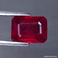 Coleccionismo de gemas: RUBI 8 X 6 MM.. Lote 182325057