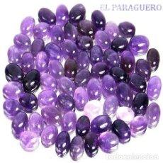 Coleccionismo de gemas: 80 AMATISTAS PURPURA CABUCHON AFRICANAS CON UN TOTAL DE 800 KILATES CON CERTIFICADO KGCL - Nº3. Lote 182530792
