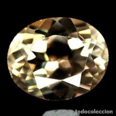 Coleccionismo de gemas: TOPACIO CHAMPANG 12 X 10 MM. Lote 182587950