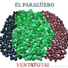 Coleccionismo de gemas: 300 GEMAS CABUCHON ESMERALDAS ZAFIROS Y RUBIS CON UN TOTAL DE 2500 KILATES CON CERTIFICADO KGCL -Nº8. Lote 182595610