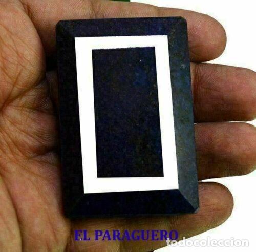 GIGANTE Y PRECIOSO ZAFIRO DE LA INDIA DE 565 KILATES MIDE 6,00 X 4,0 X 2,0 CM Nº62 (Coleccionismo - Mineralogía - Gemas)