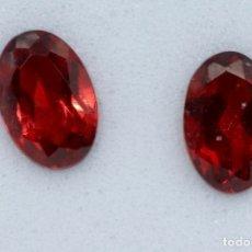 Coleccionismo de gemas: PAREJA DE PIROPOS, CASI GEMELOS. Lote 182678675