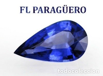 DELICIOSO Y LUJOSO ZAFIRO AZUL ATERCIOPELADO DE 32 KILATES MIDE 4 X 2 CENTIMETROS Nº13 (Coleccionismo - Mineralogía - Gemas)