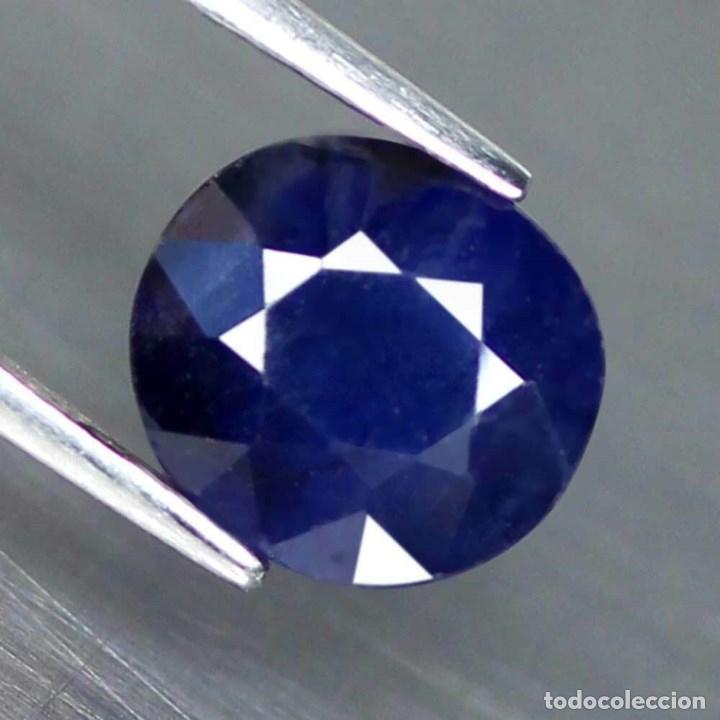Coleccionismo de gemas: Zafiro Azul 8,1 x 7,4 mm. - Foto 2 - 182728556