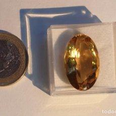 Coleccionismo de gemas: GEMA CITRINO NATURAL CALIDAD EXTRA. Lote 183468108