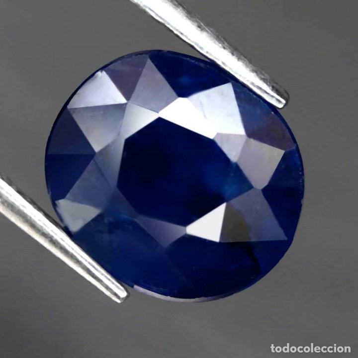 Coleccionismo de gemas: Zafiro Azul 9,5 x 8,3 mm. - Foto 2 - 183829685