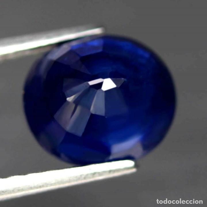 Coleccionismo de gemas: Zafiro Azul 9,5 x 8,3 mm. - Foto 3 - 183829685