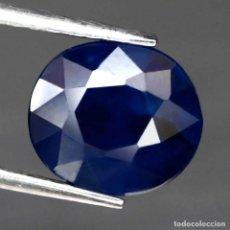 Coleccionismo de gemas: ZAFIRO AZUL 9,5 X 8,3 MM.. Lote 183829685