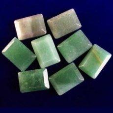Collezionismo di gemme: 8 AVENTURINAS NATURALES DE 54,60 CT. Lote 183833363