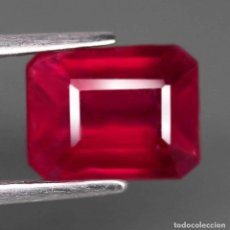 Coleccionismo de gemas: RUBI 8,1 X 6,2 MM.. Lote 183834977