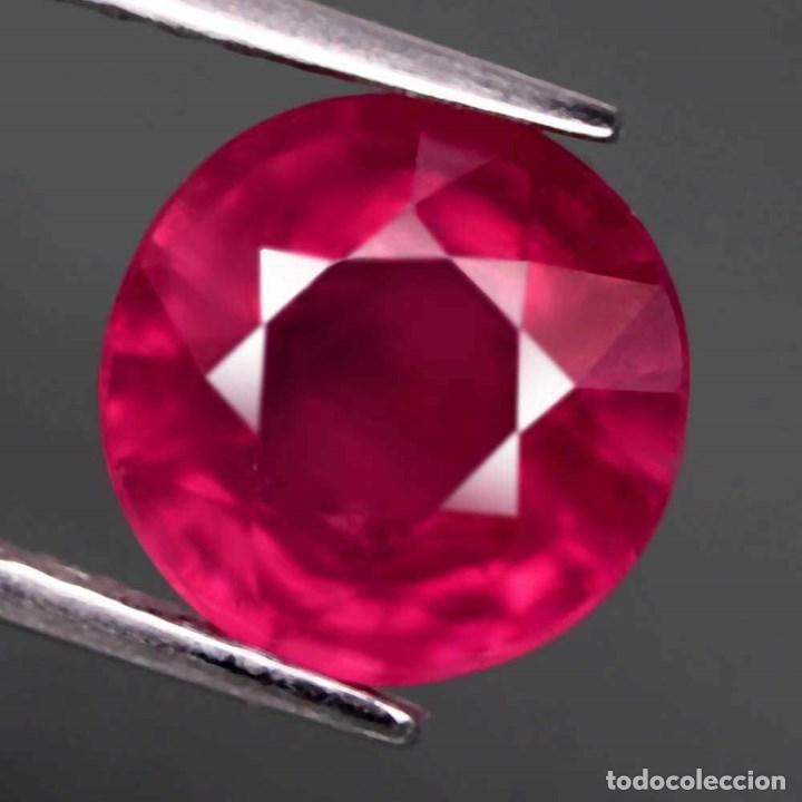 Coleccionismo de gemas: Rubi Redondo 9,3 mm. - Foto 2 - 183860366