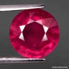 Coleccionismo de gemas: RUBI REDONDO 9,3 MM.. Lote 229393980