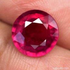 Coleccionismo de gemas: RUBI REDONDO 9,7 MM.. Lote 183909336