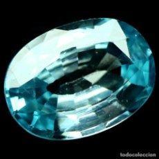 Coleccionismo de gemas: CIRCON NATURAL 8,0 X 6,0 MM.. Lote 215678693