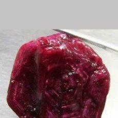 Coleccionismo de gemas: RUBÍ NATURAL EN BRUTO DE 54,35CT.. Lote 184035190