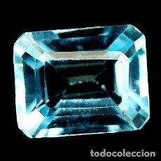 Coleccionismo de gemas: TOPACIO 10,2,0 X 8,2,0 MM.. Lote 184036988