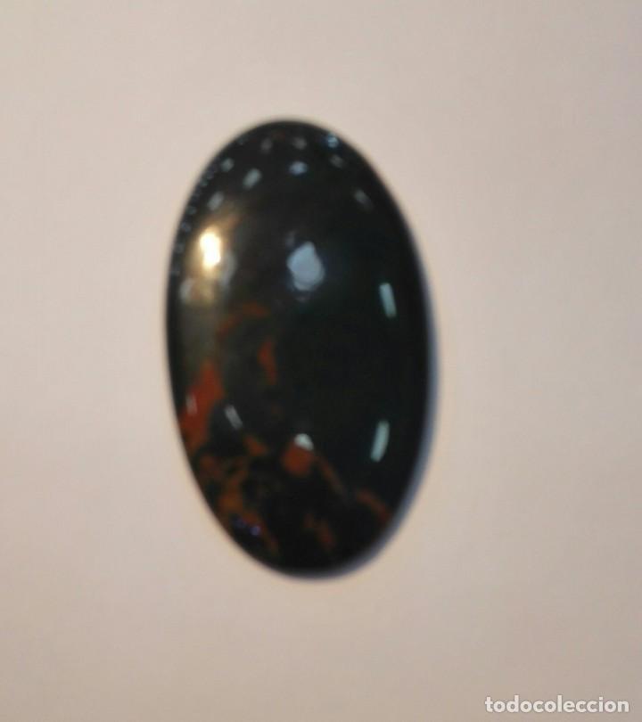 Coleccionismo de gemas: CABUJON HELIOTROPO - Foto 3 - 184341936
