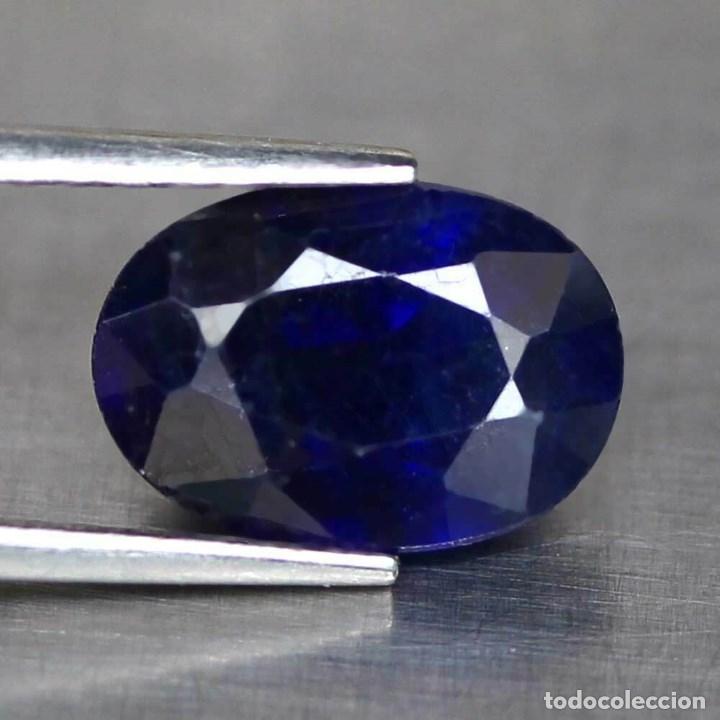 ZAFIRO AZUL 10,1 X 8,0 MM. (Coleccionismo - Mineralogía - Gemas)