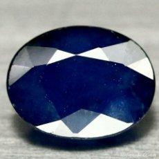Coleccionismo de gemas: ZAFIRO AZUL 9,8 X 7,6 MM.. Lote 184557702