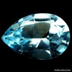Coleccionismo de gemas: TOPACIO 14,0 X 9,2 MM.. Lote 224513836
