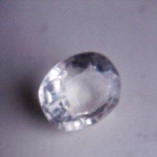 Coleccionismo de gemas: ZAFIRO BLANCO NATURAL DE SRI LANKA, OVAL CON 8.15 CT CERTIFICADO AGI.. Lote 185707420