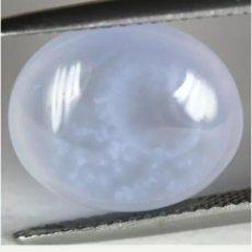 Coleccionismo de gemas: CALCEDONIA NATURAL AZUL DE 6,93 CT.. Lote 185931608