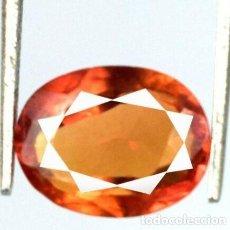 Coleccionismo de gemas: ZAFIRO PADPARADSCHA NARANJA OVAL DE SRI LANKA (CEYLAN) CON 4.30 CT. CERTIFICADO AGI.. Lote 185975751
