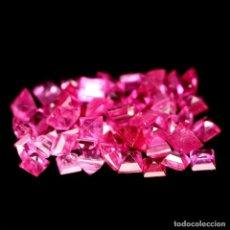 Coleccionismo de gemas: RUBI CUADRADO 2,0 X 2,0 MM.. Lote 217382738