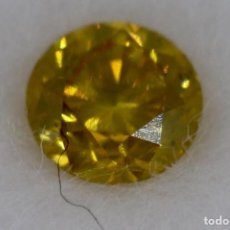 Coleccionismo de gemas: DIAMANTE NATURAL EN BLISTERS 0,14 CT. Lote 186312842