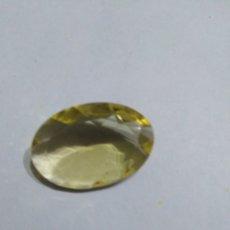 Coleccionismo de gemas: CUARZO NATURAL LIMON DE 12,85CT.. Lote 187207906
