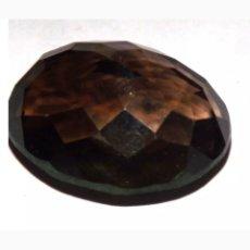 Coleccionismo de gemas: CUARZO NATURAL AHUMADO 24,80CT.. Lote 187208956
