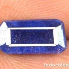 Coleccionismo de gemas: PRECIOSO ZAFIRO AZUL NATURAL DE CEYLAN. TALLA FANCY & OCTOGONAL CON 2.10 CT. CERTIFICADO.. Lote 238471900