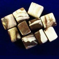 Coleccionismo de gemas: LOTE DE 10 JASPER AUSTRALIANO NATURALES CEBRA DE 40,20CT. Lote 189360058