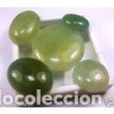 Coleccionismo de gemas: 5X AGUAS MARINAS VERDES. Lote 229447470