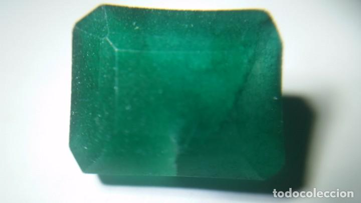 Coleccionismo de gemas: Esmeralda Natural de Colombia. Talla Tradicional. Sin tratar. con 12.20 Ct. - Foto 2 - 190014623