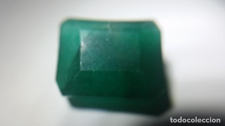 Coleccionismo de gemas: Esmeralda Natural de Colombia. Talla Tradicional. Sin tratar. con 12.20 Ct. - Foto 3 - 190014623
